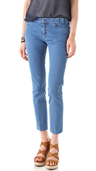 MiH Paris Aviator Slim Leg Jeans