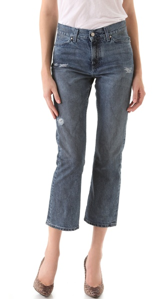 MiH Jane Cropped Flare Jeans