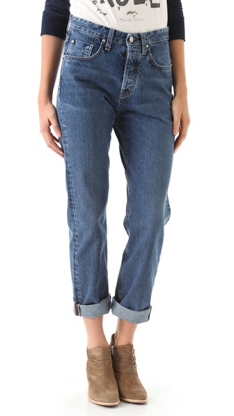 MiH Halsy Straight Leg Jeans