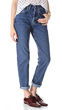 MiH Halsy Straight Leg Jeans