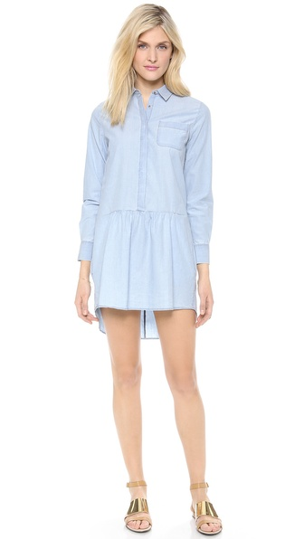 MiH The Gathered Shirtdress