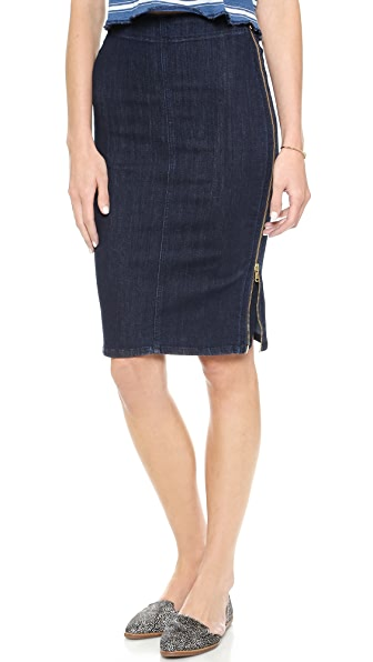 MiH The Body Con Zipper Skirt