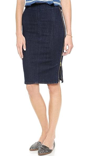 MiH The Body Con Zipper Skirt