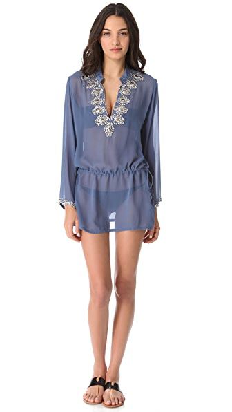 Heidi Klein Andaman Beaded Cover Up