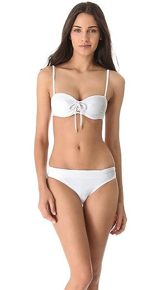 Heidi Klein White Sands Bikini Top