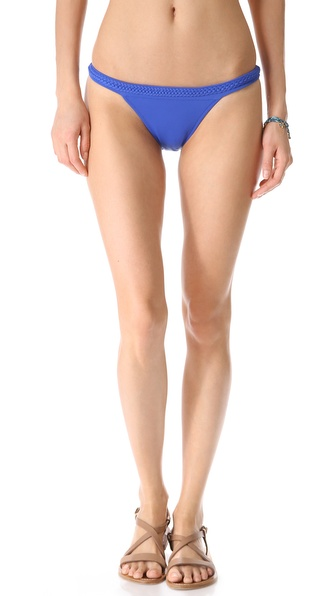 Heidi Klein Plaited Bikini Bottoms