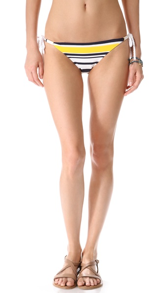 Heidi Klein Willow Bay Tie Side Bikini Bottoms