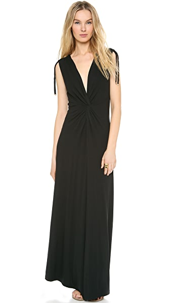 Heidi Klein Twist Maxi Cover Up Dress