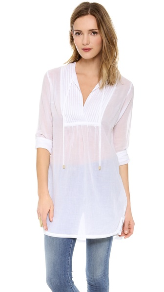 Heidi Klein Pin Tuck Shirt