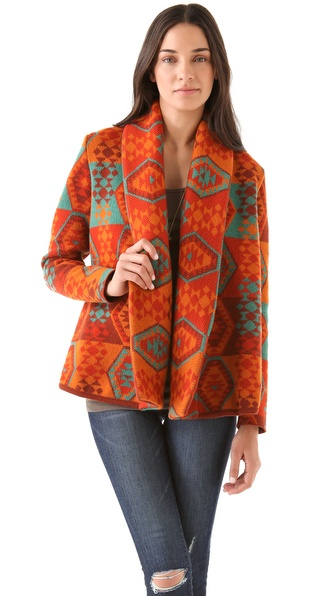 Heimstone Hallow Draped Cardigan