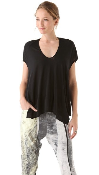 HELMUT Helmut Lang Kinetic Jersey Oversized Tee
