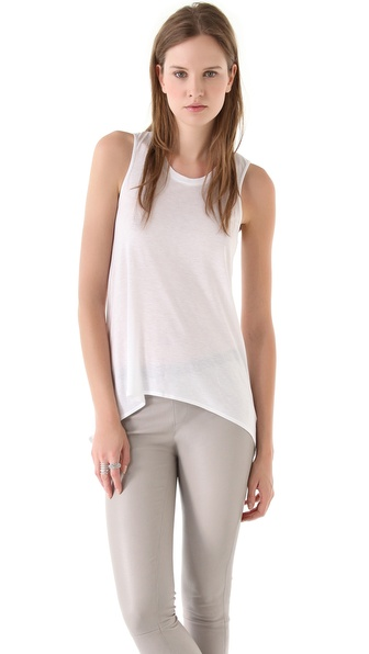 HELMUT Helmut Lang Kinetic Jersey Tank