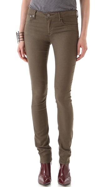 HELMUT Helmut Lang Overdye Skinny Jeans