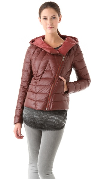 HELMUT Jet Hooded Puffer Jacket from shopbop.com