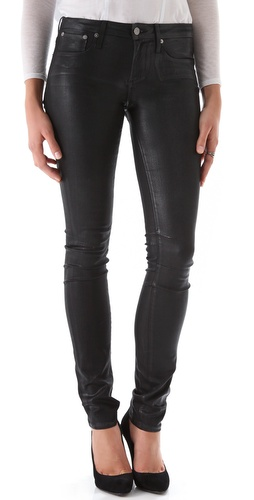 Shop HELMUT Helmut Lang High Gloss Skinny Jeans and HELMUT Helmut Lang online - Apparel,Womens,Bottoms,Jeans, online Store