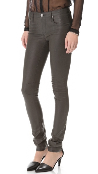 HELMUT Helmut Lang Gloss Wash Skinny Jeans