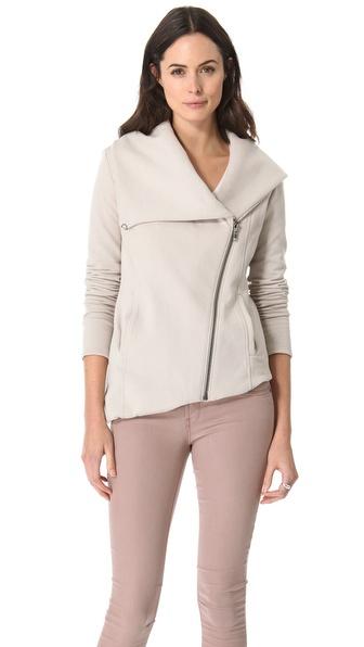 HELMUT Helmut Lang Soft Sweatshirt Jacket