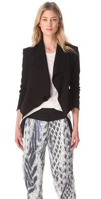 HELMUT Helmut Lang Flash Drape Blazer