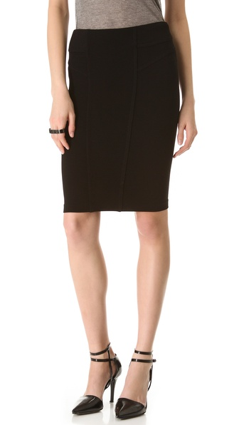 HELMUT Helmut Lang Gala Knit Skirt
