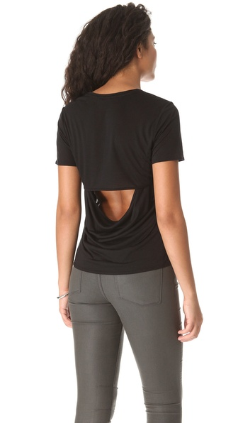 HELMUT Helmut Lang Kinetic Slash Back Tee
