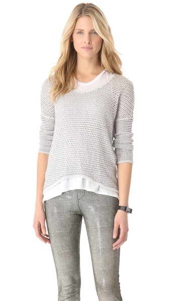 HELMUT Helmut Lang Light Boucle Pullover