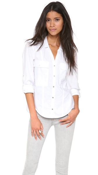 HELMUT Helmut Lang Pocket Button Down Shirt