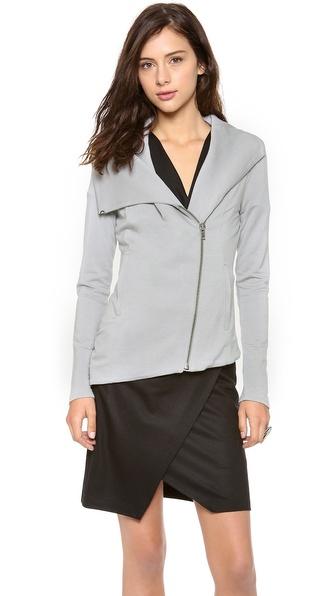 HELMUT Helmut Lang Villous Jersey Jacket