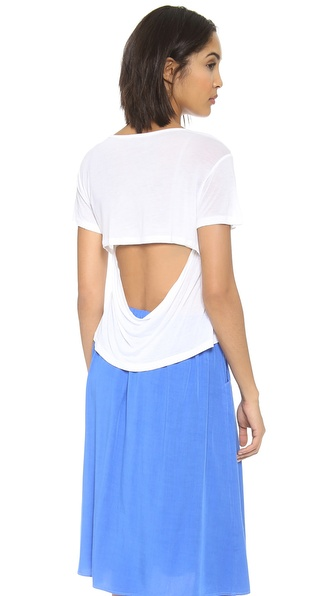 Hepburn Monroe Short Sleeve Crop Top