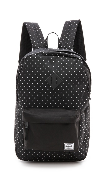 Herschel Supply Co. Heritage Backpack - Black Polka Dot at Shopbop / East Dane