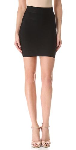 Herve Leger Signature Essentials Bandage Miniskirt
