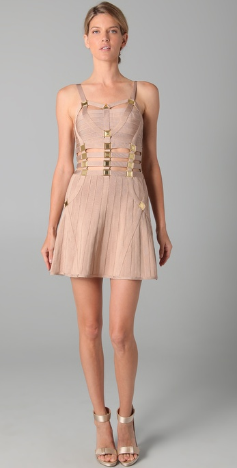 Herve Leger Cutout Dress