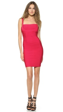 Herve Leger Sleeveless Dress