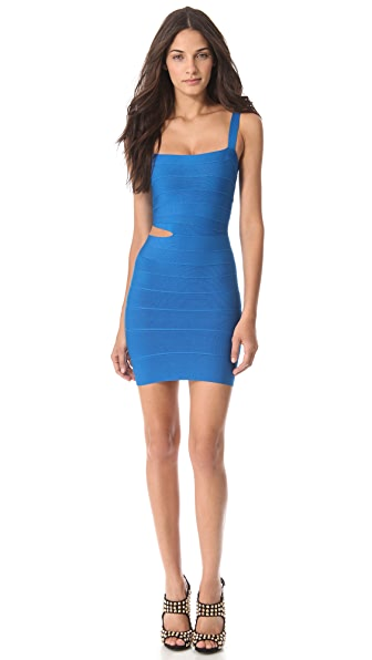 Herve Leger Roxy Cutout Dress