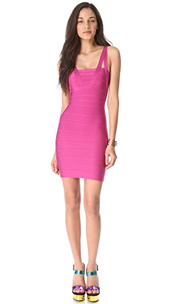 Herve Leger Zinnia Sleeveless Dress