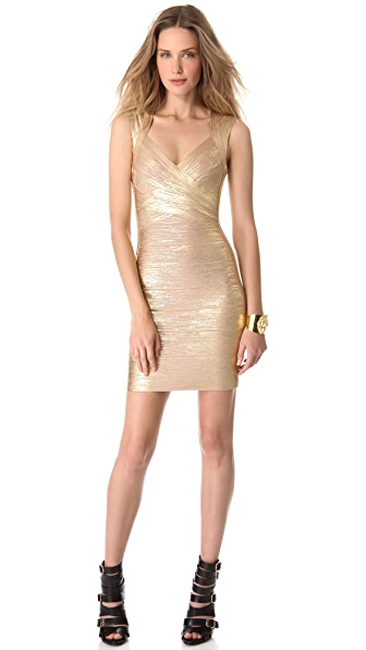 Herve Leger Iman Dress