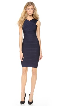 Herve Leger Stella Cocktail Dress