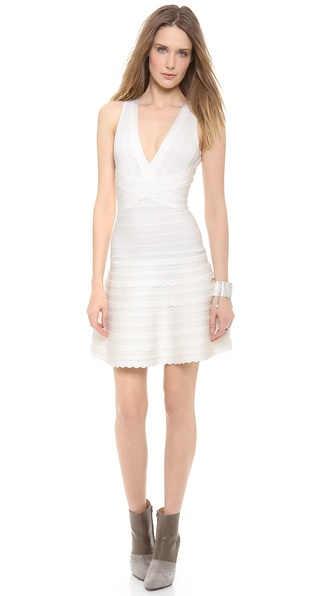 Herve Leger Nikayla Dress