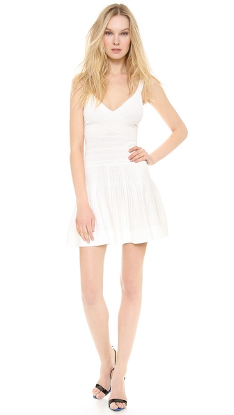 Herve Leger Thana Textured Dress