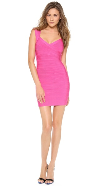 Herve Leger Sarai Cocktail Dress