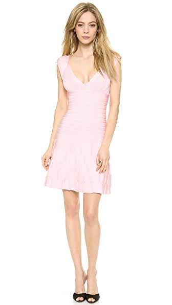 Herve Leger Mirah Mini Dress