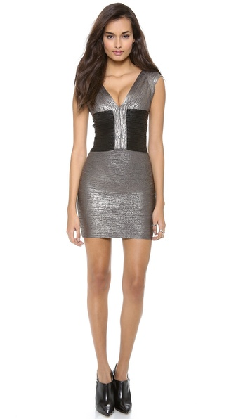 Herve Leger Melena Cocktail Dress