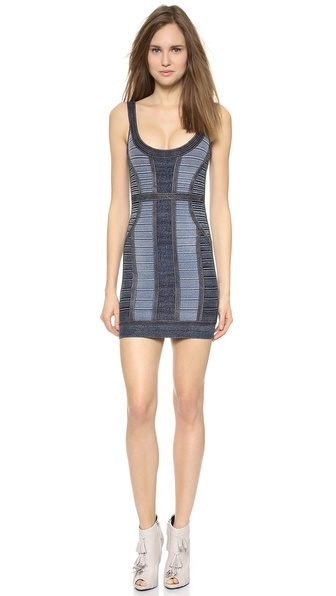 Herve Leger Aja Mini Dress
