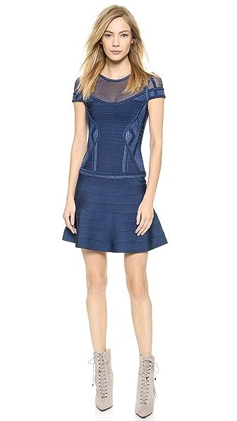 Kupi Herve Leger haljinu online i raspordaja za kupiti Herve Leger Odiele Dress Classic Blue online