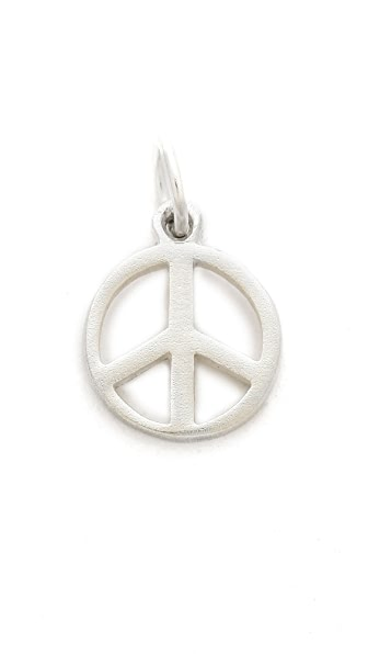 Helen Ficalora Small Peace Charm