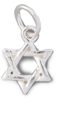 Helen Ficalora Star Of David Charm