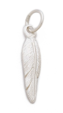 Helen Ficalora Feather Charm