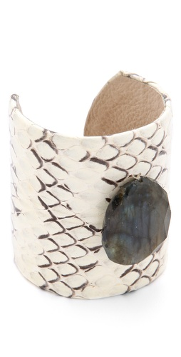 Heather Hawkins Exotic Gemstone Cuff