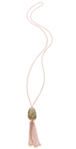 Heather Hawkins Large Chain Tassel Necklace