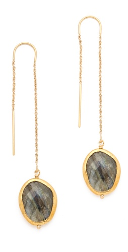 Heather Hawkins Thread Thru Earrings at Shopbop.com