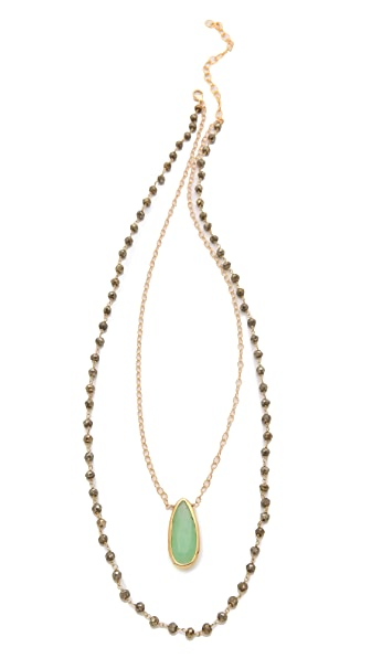 Heather Hawkins Two Layered Necklace
